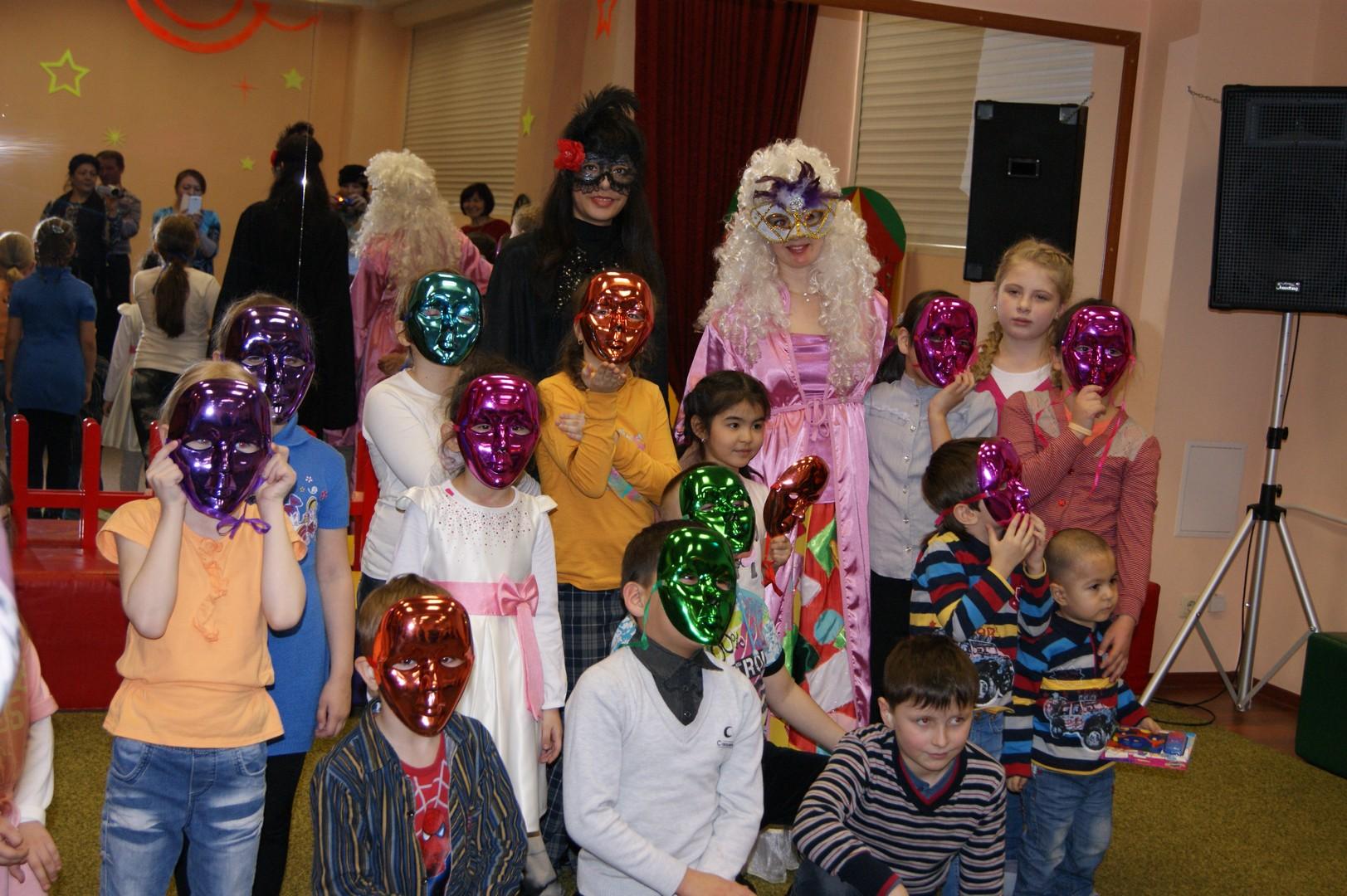 Награждение в детском центре
