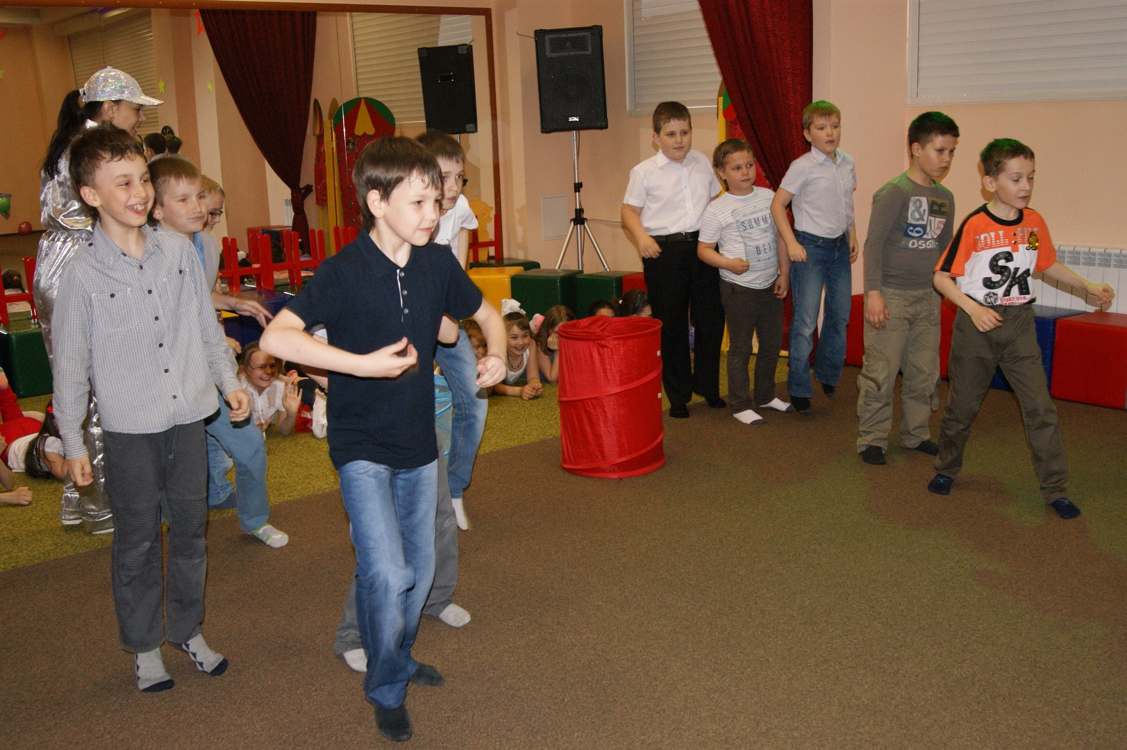 Конкурсы в детском центре