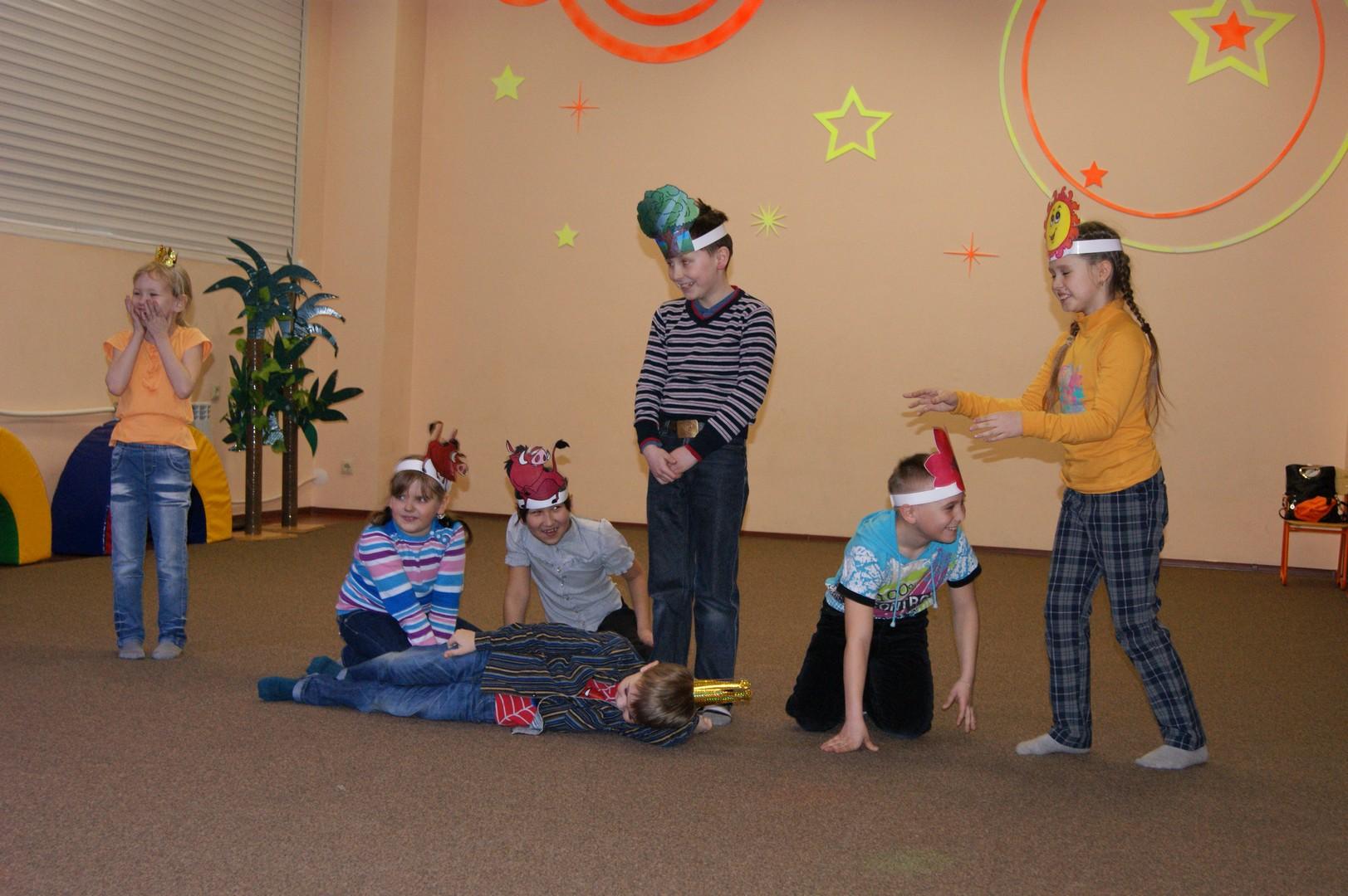 Игры в детском центре