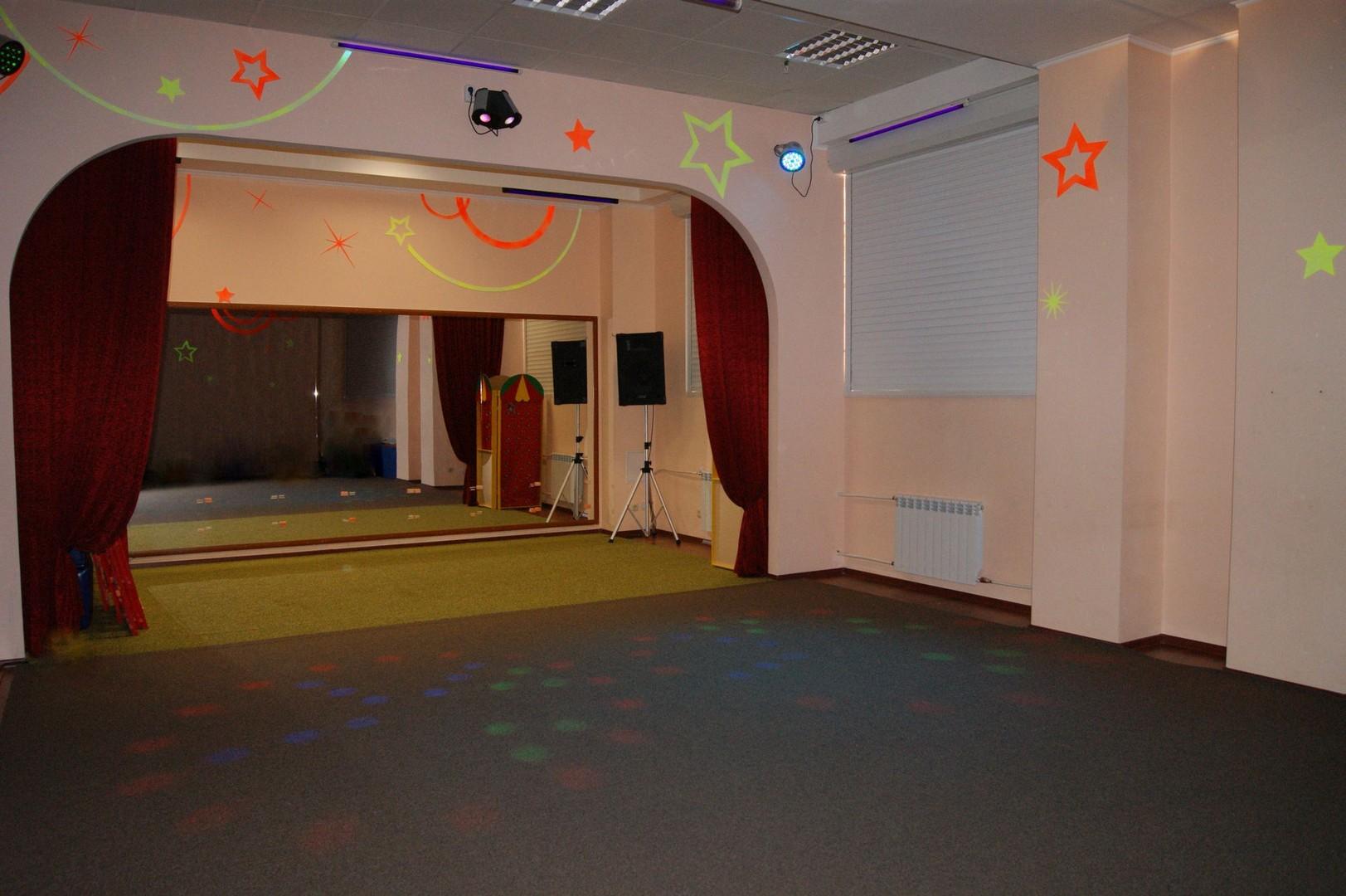 Зал для проведения дискотек