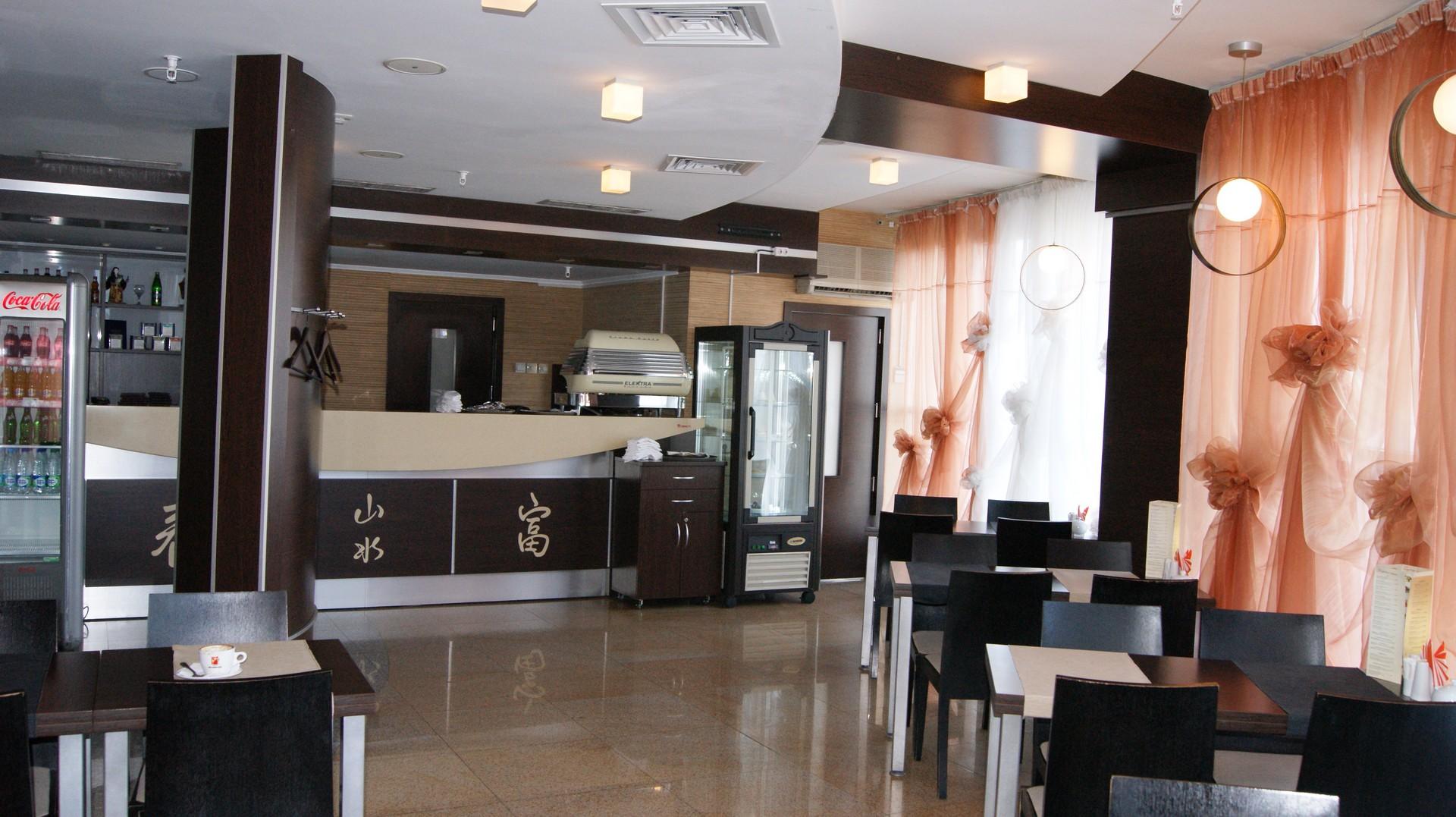 Кафе на 3 этаже